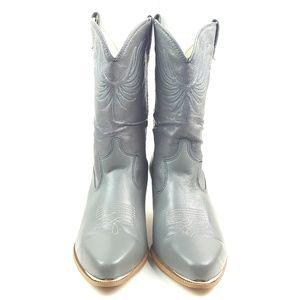 DINGO|VTG Two Tone Gray Western Cowboy Boots SZ 10